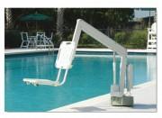 Lève handicapé électrique pour piscine - Hauteur : 185 cm