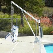 Lève-personne de piscine télécommandé - Monte et descend automatiquement