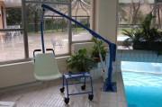 Leve personne fixe piscine - Sur batteries - Capacité maximale : 140 kg