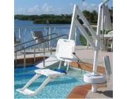 Leve personne pour piscine - Capacité : jusqu'à 180 kg