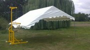 Lève-tente en acier galvanisé - Charge maxi : 160 kg