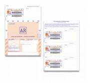 Liasses International avec code-barres - Quantité par boîte : 750