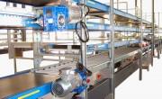 Ligne de convoyage gravitaire motorisée - Adaptée à votre environnement industriel