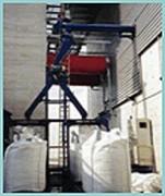 Ligne de convoyage mécanique big bag - Stockage des poudres ou pulvérulents