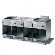 Ligne de cuisson professionnelle - Appareils modulaires en acier inox