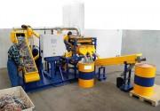 Ligne de recyclage de câbles - Capacité : 200 -350 Kg / h