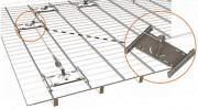 Ligne de vie aluminium à joint debout - Horizontale (angle toléré de 15°) - Limitée à 3 utilisateurs