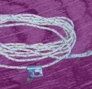 Ligne de vie en cordage - Avec corde longueur : 10m
