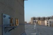 Ligne de vie toit bâtiment - Système de sécurité des accès en hauteur