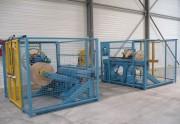 Ligne enrouleuse dérouleur sur mesure - Capacité de 0.6 m à 3 m ou  plus