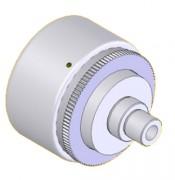 Limiteur de couple magnétique - Couples réglables de 0,2 à 10 Nm