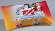 Lingettes St Marc - Lingettes nettoyantes et désinfectantes