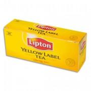 LIPTON Boîte de 25 sachets de thé LIPTON Yellow - Europa