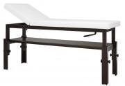 Lit de massage réglable - Dimensions (L x l x H) : 190 x 71,5 x 75 - 100 cm