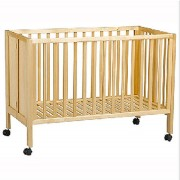 Lit pliant bois compact - Dimensions de couchage : 60 x 120 cm