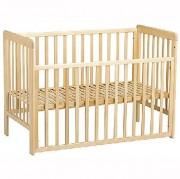 Lit pour bébé standard - Dimension de couchage : 60 x 120 cm