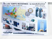 Livre d'Histoire de France - Dimensions : H 71 x L 51 cm - 49 Planches éducatives