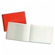 Livre de paie format 24x32 cm 52 pages - Le Dauphin