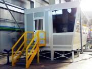 Local technique préfabriqué 24 m² - Vitrage résistant à une pression élevée