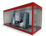 Local technique station de lavage - Système de mélange électromécanique