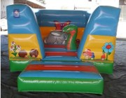 Location aire de jeux gonflable - Dimension : 4m x 3m x 2,5m (h)
