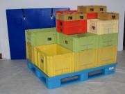 Location bac plastique de stockage - Bacs - Conteneurs - Caisses palettes - Différentes dimensions disponibles