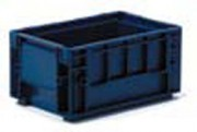 Location bac plastique recyclable - Dim. int. utiles 243 x 162 x 129.5 mm - volume utile 5.3 l.