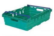 Location bac plastique réutilisable - Dim. ext. 600 x 400 x 253 mm - contenance max. 25 kg