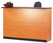Location banque accueil de bureau 165 x 60cm - MARINA