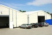 Location bâtiment de stockage - Portée (m) : 5 - 30 (avec bâtiments accolés) - Surface: à partir de 150 mètres carrés