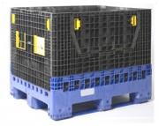 Location caisse palette plianteHDPE - Dimensions (L x P x H) mm : 1120 x 920 x 790 ou 1200 x 1000 x 975