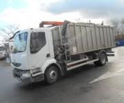 Location camion benne à ferraille Renault occasion - Puissance : 270 CV, charge utile : 6,59 tonnes
