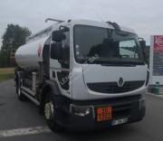 Location camion citerne Renault occasion norme Euro 5 - Puissance : 270 CV, Capacité du réservoir : 13000 L