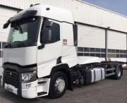 Location camion porte container Renault occasion - Modèle : T 460 4 x 2 Porte conteneur