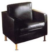 Location canapé chauffeuse en cuir 1 place - Milani