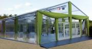 Location chapiteaux modulaire de protection chantier - Modulaires, temporaires et flexibles