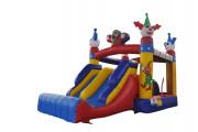 Location château gonflable Clown - Dimensions (mètre) : 6 × 2.1 × 2.6 m