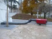 Location chauffage industriel de 2000 à 50 000 m3 - Parc de matériel de plus de 2 500 000 calories