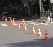 Location cônes de chantier - En pvc