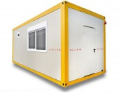 Location container habitable sanitaire - Surface: 19,69 m²