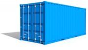 Location conteneur de stockage - 20 pieds - Poids : 2t2