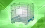 Location conteneur IBC - Dim. int. 1130 x 770 x 765 mm - capacité de charge recommandée 700 kg