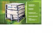 Location conteneur pour stockage - Dim. int. 1092 x 1022 x 944 mm - charge utile recommandée en transport 1500 kg