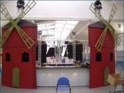 Location de matériel pour salon - Parc pour séminaires - Mobiliers - machines d'éclairage  - matériels de décoration