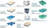Location de palettes, conteneurs et bacs - Location de matériel de manutention