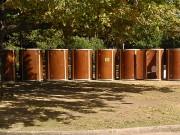 Location de toilettes écologiques - Hauteur de 220 cm