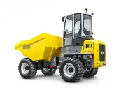Location dumper sur pneus - Charge utile: 10.000 kg