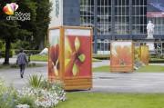 Location exposition photos en extérieur - Location mobilier sur pieds et photos nature pour expo en exterieur