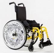 Location fauteuil roulant enfant PMR - Fauteuil roulant manuel léger en aluminium et pliant