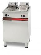 Location friteuse électrique professionnelle - Friteuse électrique 2 x 6 Litres 2 x 4,5 kW